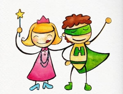 childrens-day-superheroes-clipart